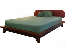Zen Bed with Headboard