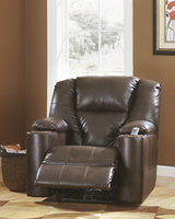 Ashley Furniture Zero Wall Recliner, Brindle