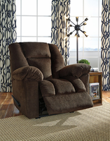 Ashley Furniture Zero Wall Recliner, Chocolate