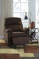 Ashley Furniture Zero Wall Recliner, Java