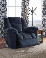 Ashley Furniture Zero Wall Recliner, Midnight