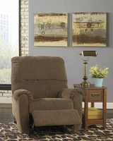 Ashley Furniture Zero Wall Recliner, Walnut