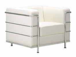 Zuo Modern Fortress Arm Chair White