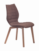 Zuo Modern Aalborg Dining Chair Tobacco, Set of 2