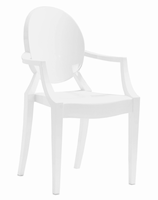 Zuo Modern Anime Dining Chair White, Set of 4