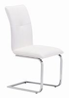 Zuo Modern Anjou Dining Chair White, Set of 2
