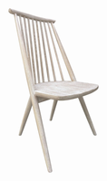 Zuo Modern Bellevue Dining Chair Sun Drenched Acacia, Set of 2
