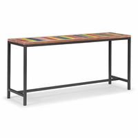 Zuo Modern Brookdale Table Multicolor Distressed Natural