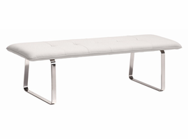 Zuo Modern Cartierville Bench White