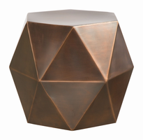 Zuo Modern Chester Accent Table Bronze