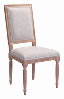 Zuo Modern Cole Valley Dining Chair Beige, Set of 2