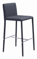 Zuo Modern Confidence Counter Chair Black, Set of 2