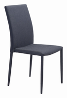 Zuo Modern Confidence Dining Chair Black, Set of 4