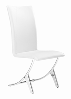 Zuo Modern Delfin Dining Chair White, Set of 2