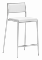 Zuo Modern Dolemite Counter Chair White, Set of 2
