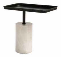 Zuo Modern Dover Accent Table Black & White