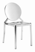 Zuo Modern Eclipse Dining Chair Ss, Set of 2