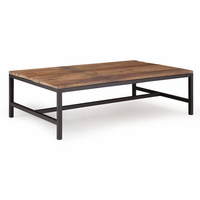 Zuo Modern Elliot Coffee Table Distressed Natural
