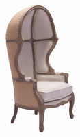 Zuo Modern Ellis Occasional Chair Beige