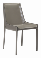 Zuo Modern Fashion Dining Chair Stone Gray, Set of 2