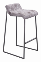 Zuo Modern Father Barstool Vintage White, Set of 2