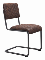 Zuo Modern Father Dining Chair Vintage Brown, Set of 2