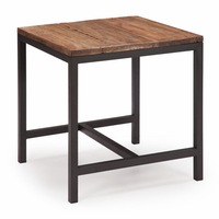 Zuo Modern Fitch Side Table Distressed Natural