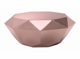 Zuo Modern Gem Coffee Table Rose Gold