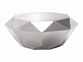 Zuo Modern Gem Coffee Table Stainless Steel