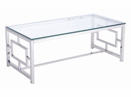 Zuo Modern Geranium Coffee Table Stainless Steel