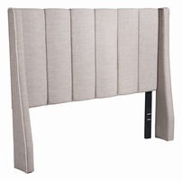 Zuo Modern Gilded Age Full Headboard Dove Gray