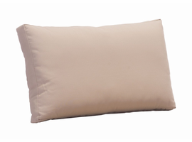 Zuo Modern Glass Beach Back Cushion Taupe