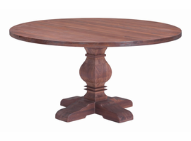 Zuo Modern Hastings Dining Table Distressed Fir