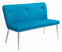 Zuo Modern Hope Bench Blue/gray