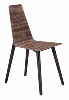 Zuo Modern Ignore Dining Chair Distressed Brown