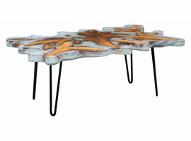 Zuo Modern Jigsaw Rectangular Coffee Table
