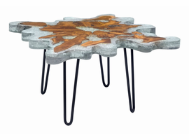 Zuo Modern Jigsaw Square Coffee Table