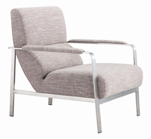 Zuo Modern Jonkoping Arm Chair Wheat