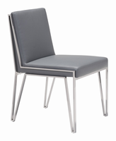 Zuo Modern Kylo Dining Chair Gray, Set of 2