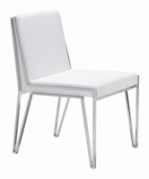 Zuo Modern Kylo Dining Chair White, Set of 2