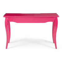 Zuo Modern Lockwood Console Table Distressed Pink