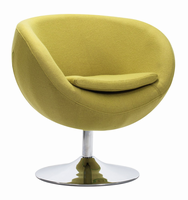 Zuo Modern Lund Arm Chair Pistachio Green