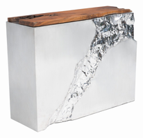 Zuo Modern Luxe Console Table Natural&ss