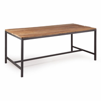 Zuo Modern Mansell Dining Table Distressed Natural