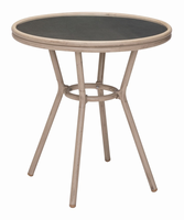 Zuo Modern Mareilles Bistro Table Dark Brown