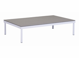 Zuo Modern Maya Beach Coffee Table White & Granite