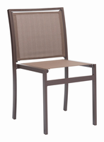 Zuo Modern Mayakoba Dining Chair Brown, Set of 2