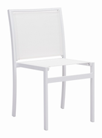 Zuo Modern Mayakoba Dining Chair White, Set of 2
