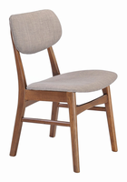 Zuo Modern Midtown Dining Chair Dove Gray, Set of 2