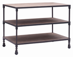 Zuo Modern Mission Bay Wide Three Level Shelf
